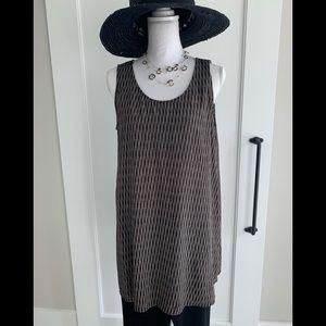 Eileen Fisher silk tunic EUC